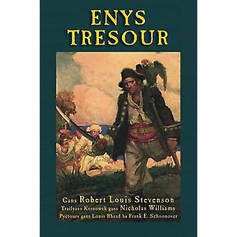 Enys Tresour Treasure Island in Cornish by Stevenson & Robert Louis