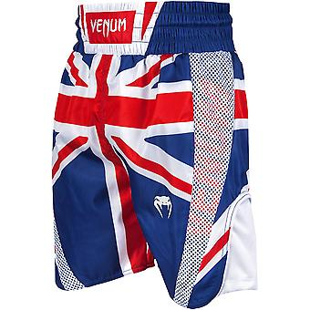 Venum Elite UK Flag Boxing Shorts - Blue/Red/White
