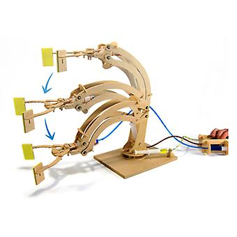 Pathfinders Hydraulic Robotic Arm Wooden Kit