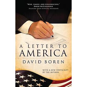 A Letter to America by David Boren - 9780806142029 Book