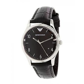 Pulseira de couro Emporio Armani Men ' s Watch Ar1865