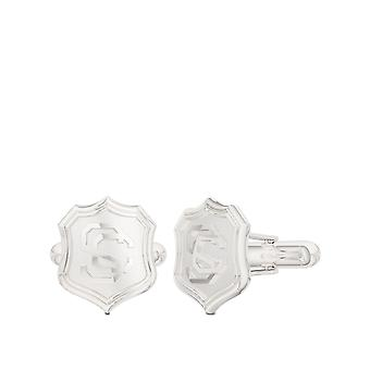 USC Vintage Mark Cuff Links In Sterling Silver