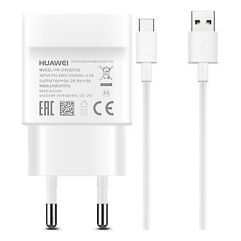 Chargeur de mur USB De Huawei, USB-A, incl. 1m USB-A-USB-C