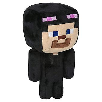 Plush - Minecraft - Happy Explorer Steve in Enderman Custom 7