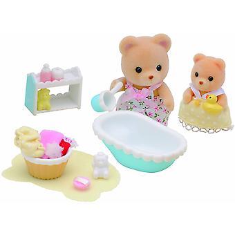 Les familles sylvanian Baby Bath Time