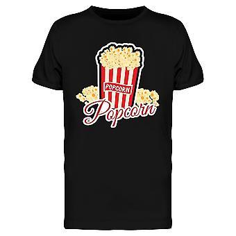 Kernel Popcorn Vintage Graphic Tee Men's -Image by Shutterstock