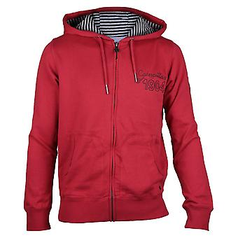 CAT Lifestyle Mens Sinds 1904 Sweatshirt Red