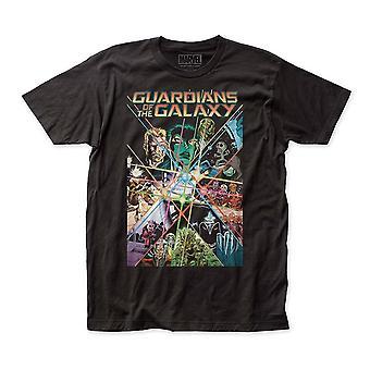 Guardianes de la Galaxy Comic Cover Men's Camiseta