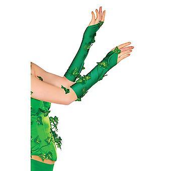 Poison Ivy Costume Gloves