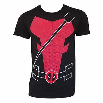 Deadpool Suit Up Costume Tee Shirt