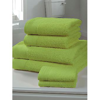 Chatsworth Towel Bale Lime - 2 feuilles de bain