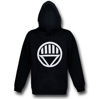 Grön lykta svart lykta symbol hoodie