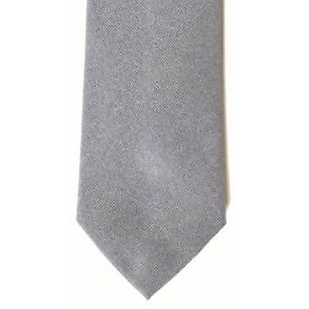 Gene Meyer Reddish Tie - Grey/Cerise/Orange -