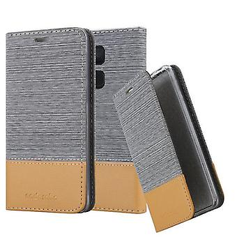 Cadorabo Hülle für BQ Aquaris V / Vs Case Cover - Handyhülle mit Magnetverschluss, Standfunktion und Kartenfach – Case Cover Schutzhülle Etui Tasche Book Klapp Style