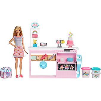 Barbie Kuchen Dekorieren Bäckerei Playset