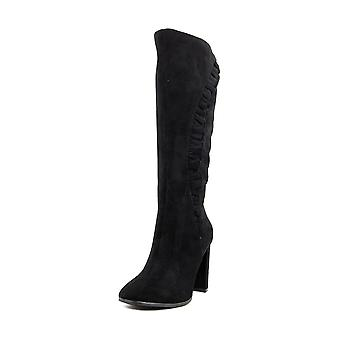 Impo Womens Oakley Leather Closed Toe Knee High Fashion Boots