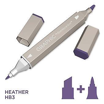 Graphic by Spectrum Noir Single Pens - Heather