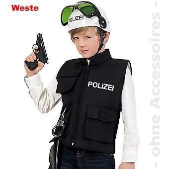 Gilet police police costume costume enfant COP de police enfants