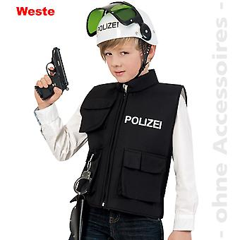 Kids politiet vest politiet politi kostume COP barn kostume