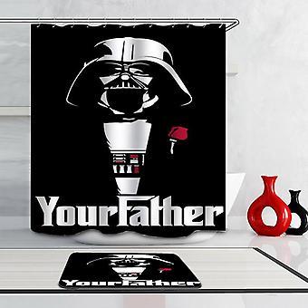 Don Darth Vader Shower Curtain