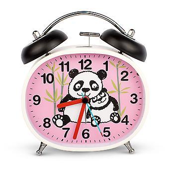 Tyrrell Katz Pandas ontwerp kinderen ' s alarm klok · Twin Bell · Silent Tick