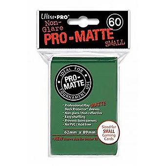 Ultra Pro Matte Small Card Sleeves - Green