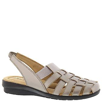 ARRAY Womens Santa Cruz Leather Closed Toe Casual Slingback Sandals