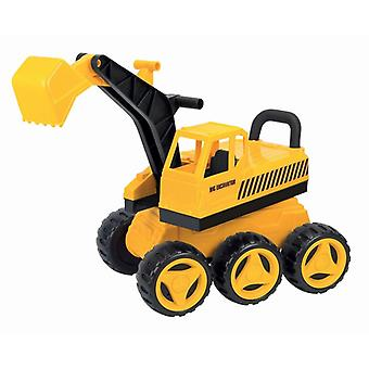 Pilsan 06207 Large toy seat excavator, up to 35 kg, mobile Body and shovel