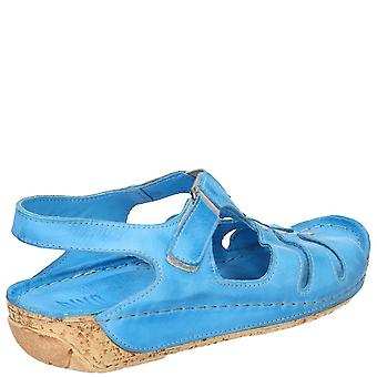 Riva Womens/Ladies Verna Touch Fastening Leather Sandal