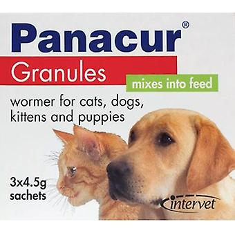 Panacur κόκκοι 3 x 4.5 g φακελάκια για σκύλους και γάτες