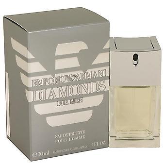 Emporio Armani diamanter Eau de Toilette Spray av Giorgio Armani 458073 30 ml