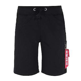 Alpha Industries svart X-Fit Cargo shorts