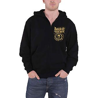 Pungent Stench Hoodie Smut Kingdom 1 Logo new Official Mens Black Zipped