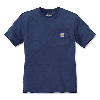Carhartt hombres trabajo bolsillo manga corta algodón camiseta camiseta