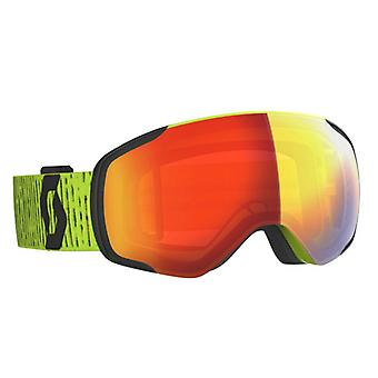 Scott Yellow Vapor Red Chrome Ski Mask