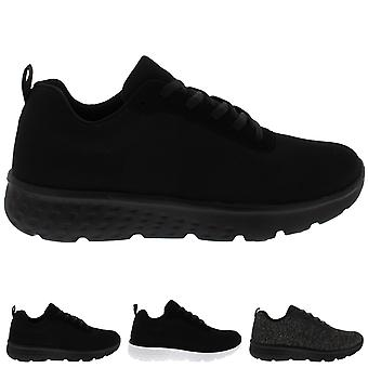 Mens Get Fit Mesh Running Trainers Athletic Walking Gym Shoes Sport Run UK 3-8