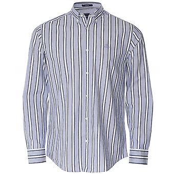 GANT العادية صالح دوبي قميص مخطط