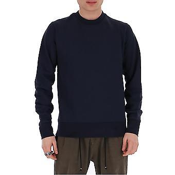 Y-3 Fn3373 Männer's blau Baumwolle Sweatshirt