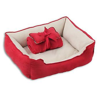 Pawise 3in1 Cradle Red (Cats , Bedding , Beds)