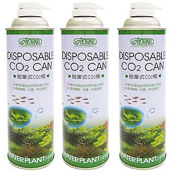 WaterPlant-де-Боте Desechable Co2 3 корректируются 550Cc