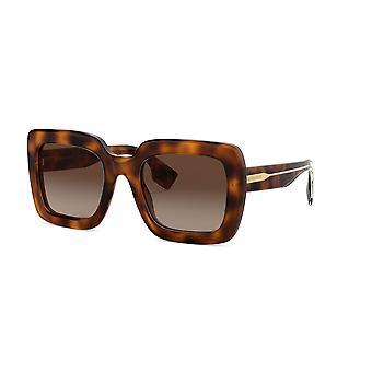 Burberry BE4284 379013 Light Havana/Brown Gradient Sunglasses