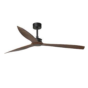 Faro Just Fan Xl - Matt Black, Holz Deckenventilator 3 Klingen 178cm - FARO33430