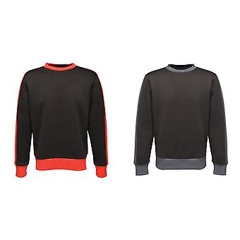 Regatta Herren Kontrast Crew Sweater