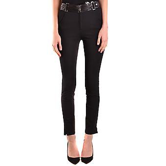 Belstaff Ezbc102014 Women's Black Cotton Pants