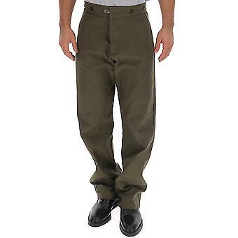 Loewe H2292301ib4430 Männer's grüne Baumwollhose