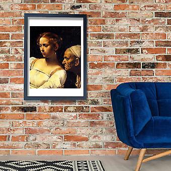 Caravaggio - Giuditta e Oloferne cartel impresión Giclee