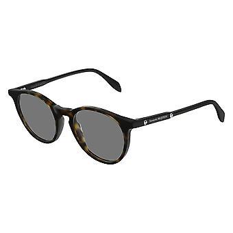 Alexander Mcqueen AM0190O 002 Havana Glasses