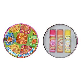 Lip Smacker Chupa Chups Round Tin - 3 balms