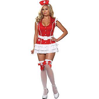 Costume d'infirmière super sexy de femmes