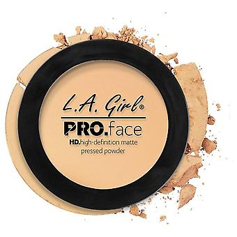 L.A. Girl Pressed Powder PRO HD Mate Natural Creamy